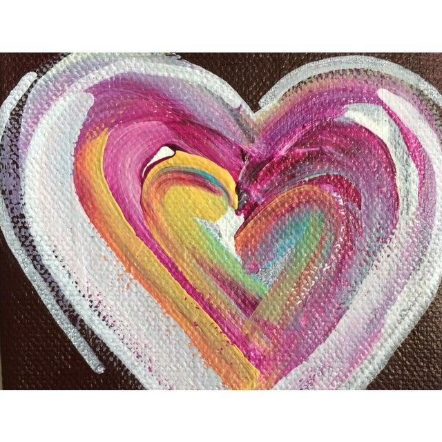 'Chocolate Heart' Original Painting by Linnea Heide - Image 4 of 5