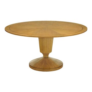 Scarborough House Round Brushed Top Dining Table For Sale