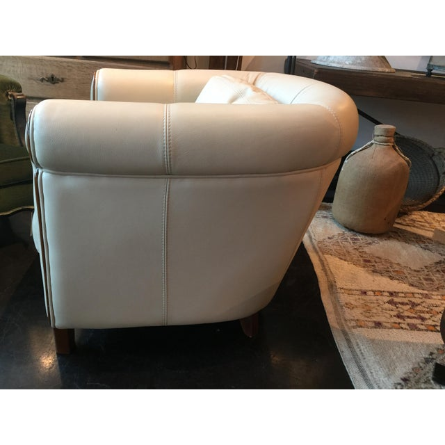 Italian Art Deco Style Club Chair For Sale In Nashville - Image 6 of 8