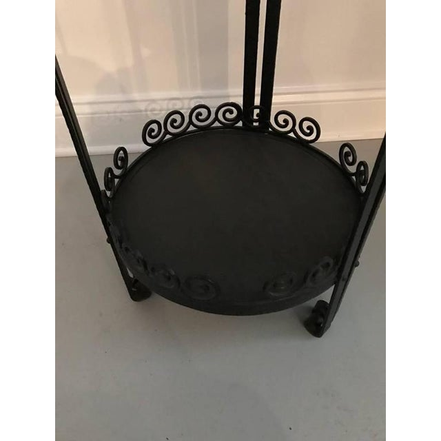 French Art Deco Side Table or Small Accent Table - Image 4 of 7