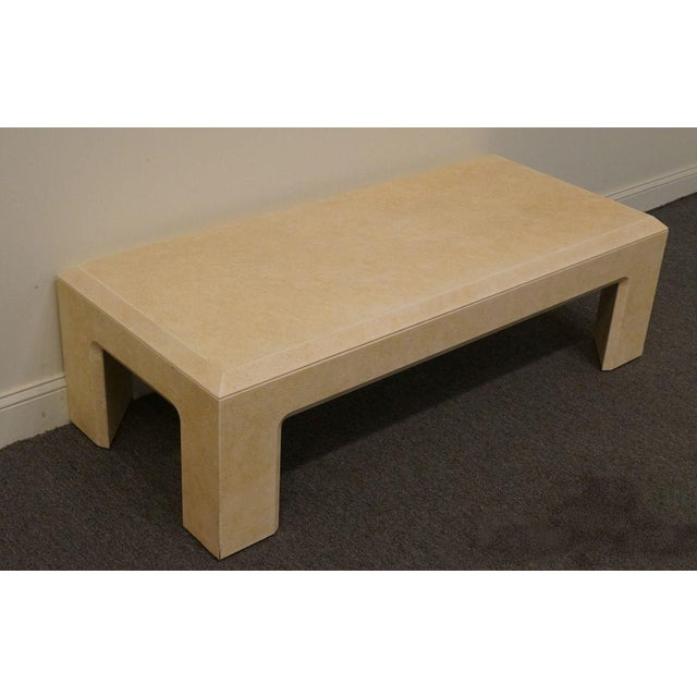 """Lane Furniture Contemporary Style 54"""" Coffee Table For Sale - Image 13 of 13"""