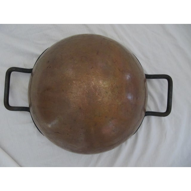 Rustic Copper Candy Cauldron For Sale - Image 3 of 9