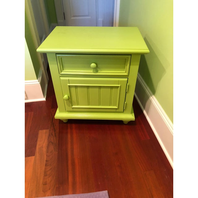 Modern Stanley Michaels Lime Green Table For Sale - Image 3 of 5