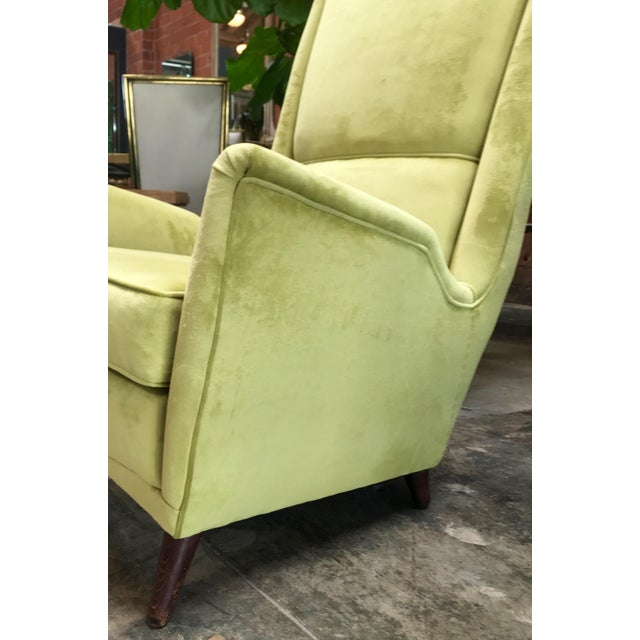 Wood Italian Absolutely Fabulous Armchairs by ISA For Sale - Image 7 of 10
