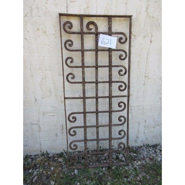Victorian Iron Gate Window Garden Fence Door - Image 4 of 6
