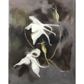 Wild Columbine Contemporary Painting For Sale