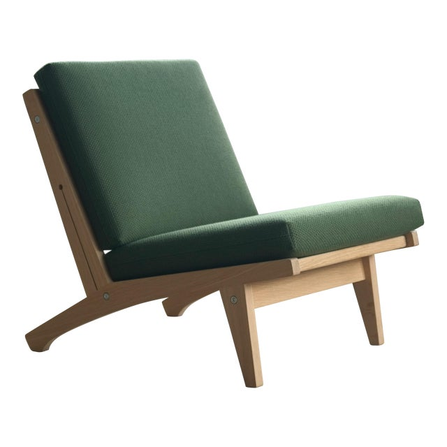 Hans Wegner Easy Chair Model GE370 for GETAMA, 1960s For Sale