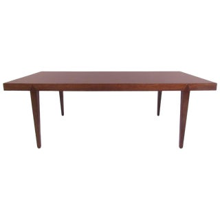 Danish Modern Rosewood Coffee Table by Severin Hansen For Sale