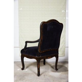 Louis XV Style Chinoiserie Fauteuil by Sally Sirkin Lewis for J Robert Scott Preview