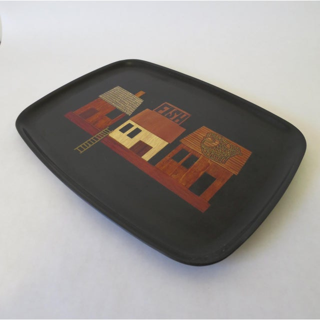 Vintage Couroc Serving Tray - Image 4 of 6