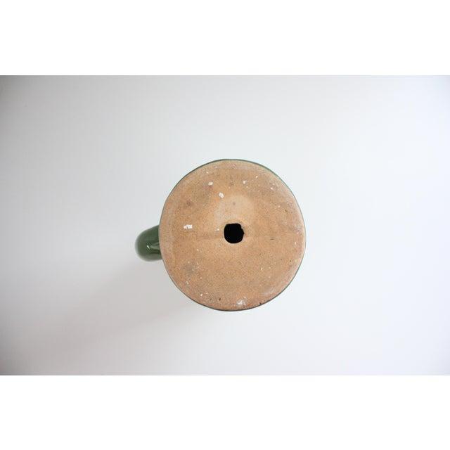 Green Ceramic Saguaro Planter - Image 6 of 6
