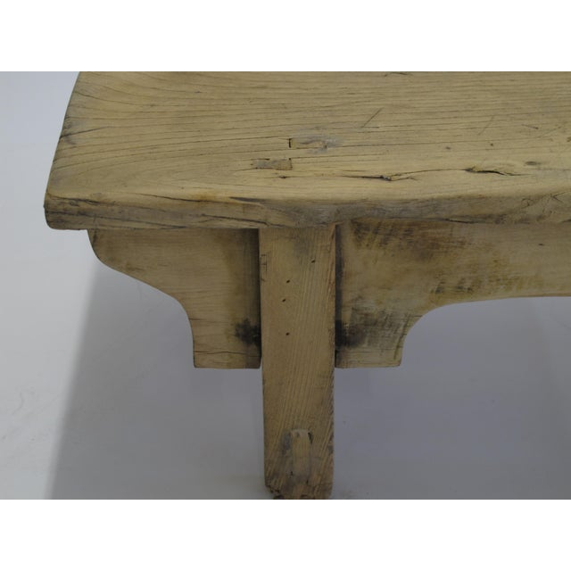 Small Rustic Kang Accent Table or Coffee Table For Sale - Image 4 of 7