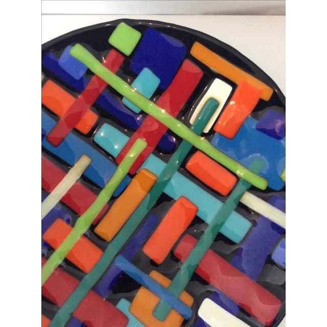 Post Modern Pence Cased Art Glass Bowl - Image 4 of 5
