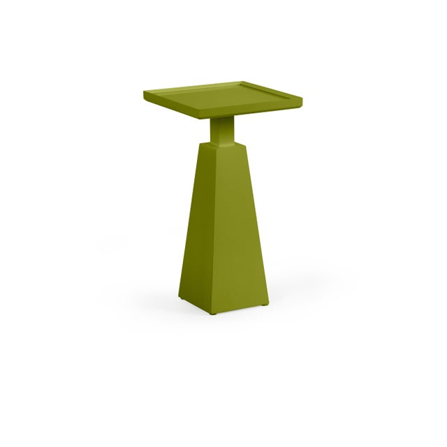 Transitional Casa Cosima Hayes Spot Table, Dark Celery For Sale - Image 3 of 3