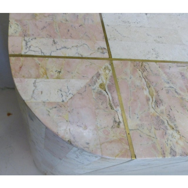 Maitland-Smith Tessellated Stone Credenza For Sale - Image 5 of 6