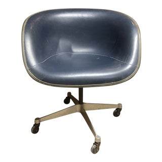 Mid Century Herman Miller Eames Swivel Chair For Sale