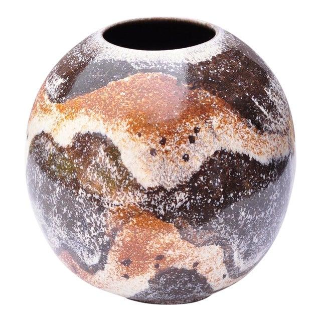 Bulbous Vase by Gustav Sporri for Zieler Ag- Switzerland 1950s For Sale