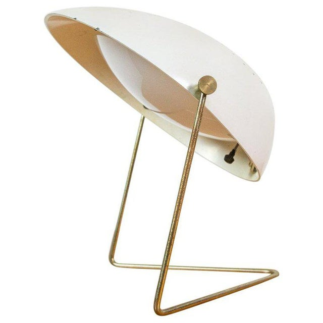 Gold Cricket Lamp by Gerald Thurston for Lightolier For Sale - Image 8 of 8