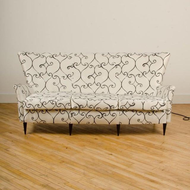 Italian 1950s Italian Paolo Buffa Style Sofa For Sale - Image 3 of 11