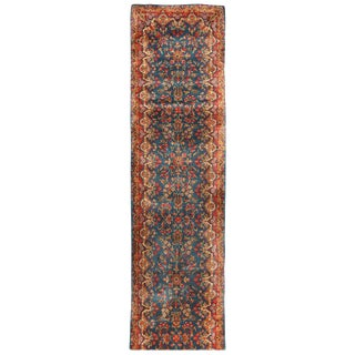 Antique Persian Kerman Runner For Sale