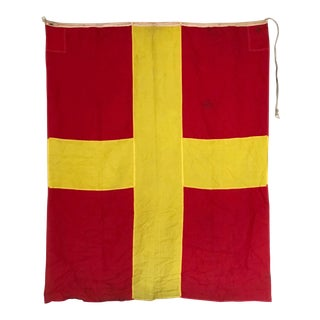 Vintage Nautical Flag R