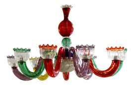 Image of Red Chandeliers