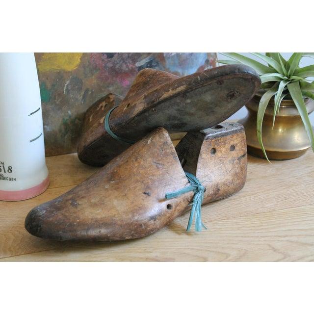 Vintage Mens Wooden Shoe Molds For Sale In San Francisco - Image 6 of 7