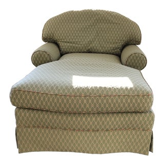 Modern Wesley Hall Custom Made Bergere Chair For Sale