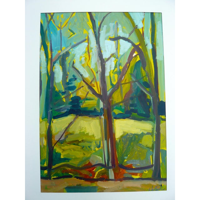 """""""Spring Forest"""" Painting by Martha Holden - Image 5 of 6"""