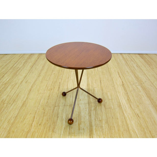 "1950s Larssons Möbelfabrik ""Table in a Jar"" Side Table For Sale - Image 9 of 13"