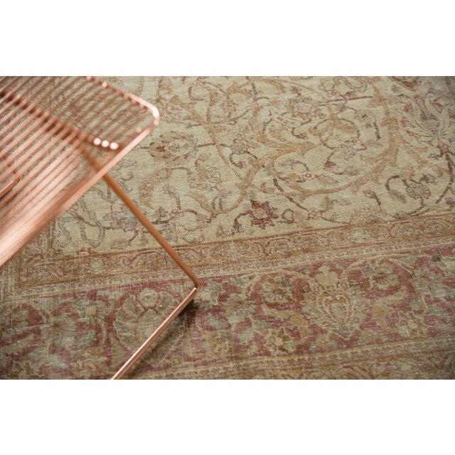 "Vintage Distressed Sivas Carpet - 8' x 10'10"" For Sale - Image 4 of 11"