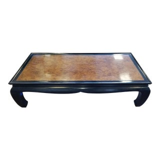 Oskar Huber Chinoiserie Style Coffee Table For Sale