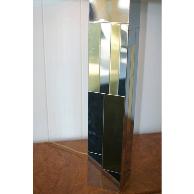 Paul Evans Cityscape Table Lamp For Sale In Boston - Image 6 of 10
