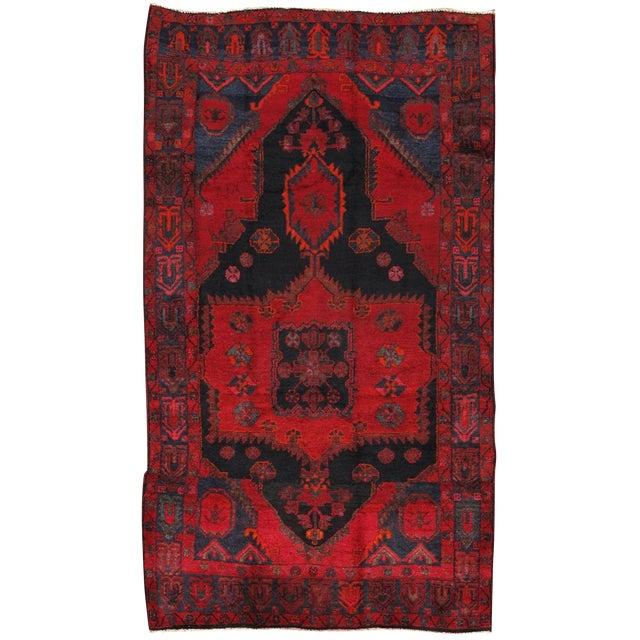 """Vintage Lori Wool Area Rug - 5'6"""" X 9'9"""" - Image 1 of 3"""