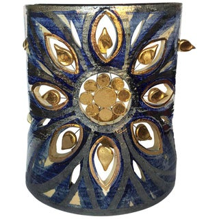 Vintage Signed Georges Pelletier Sconce For Sale