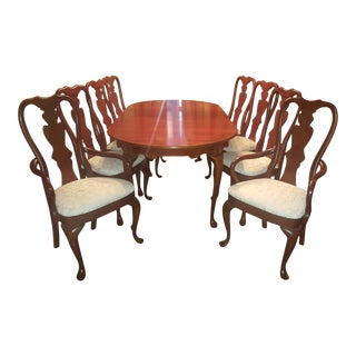 HItchcock Queen Anne Dining Set For Sale