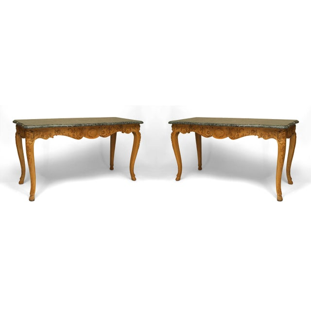 18th Century 18th Century French Provincial Louis XV Consoles - a Pair For Sale - Image 5 of 5