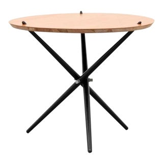 Mid-Century Modern Hans Bellmann Tripod Occasional Table For Sale