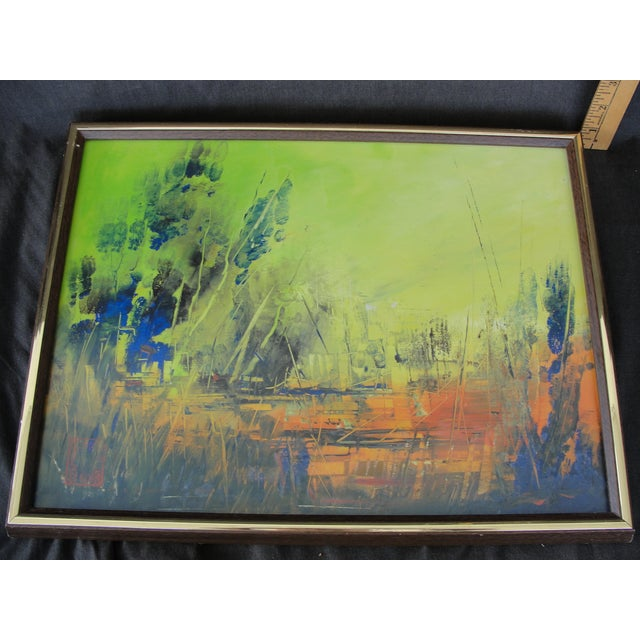 Abstract Painting by Cliff Freeland - Image 2 of 10