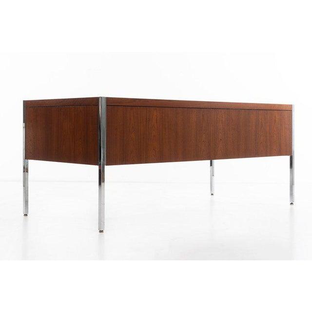 1960s Richard Schultz Executive Desk For Sale - Image 5 of 12