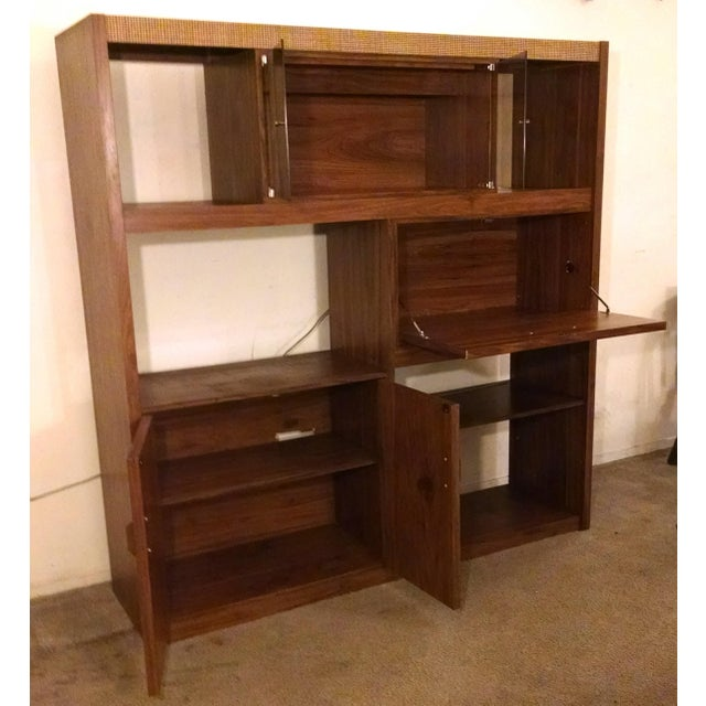 Mid-Century Modern Wall Unit - Image 4 of 6
