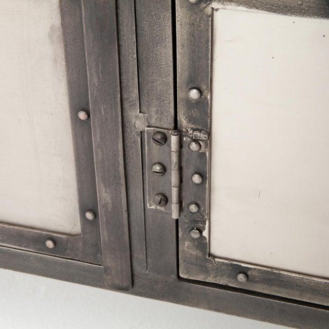 Iron Industrial Erdos + Ko Ellen Media Console Table For Sale - Image 7 of 8