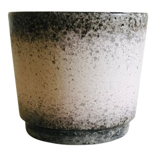 Scheurich West German Glazed Ceramic Planter For Sale