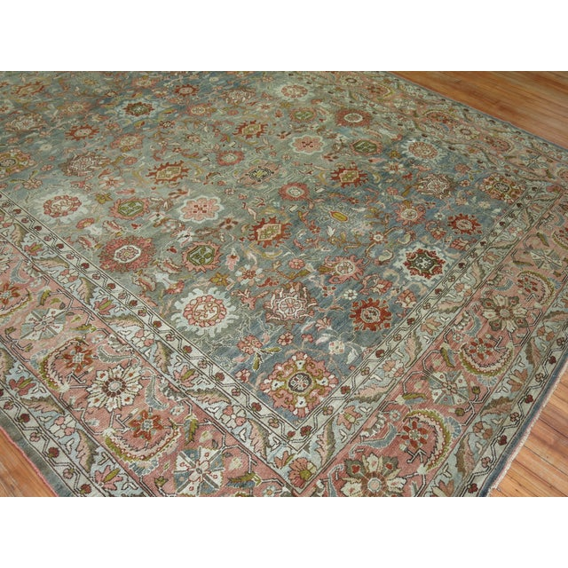 1920s Antique Malayer Rug, 9' X 11'8'' For Sale - Image 5 of 11