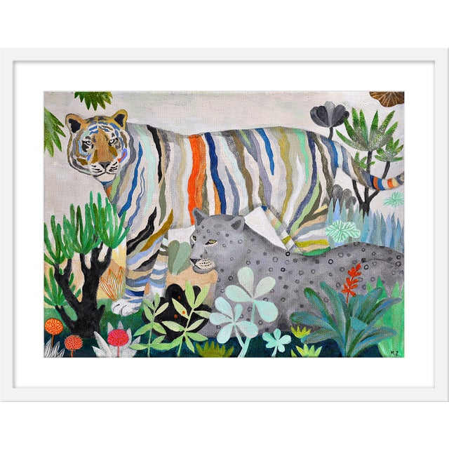 """Medium """"Living in Color"""" Print by Martyna Zoltaszek, 29"""" X 23"""" For Sale"""