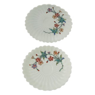 1900s Vintage Japanese Kakiemon Porcelain Dishes- A Pair For Sale