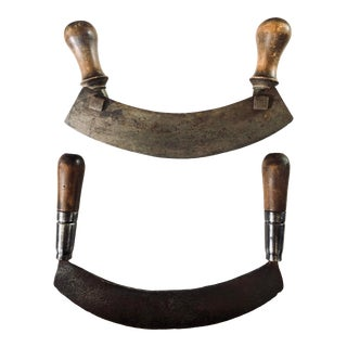French Chopping Tools, Pair For Sale
