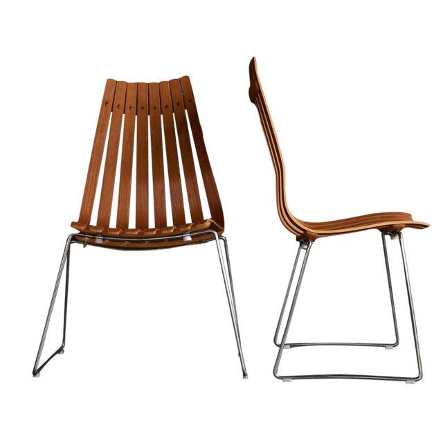 Hans Brattrud Scandia Chairs - Pair For Sale
