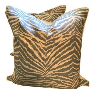 Quadrille China Seas Pillows - a Pair