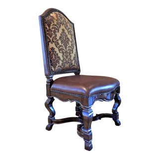Marge Carson Dining Room Accent Chair For Sale
